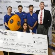 Laparoscopic Liver Maneuvering Device Wins BME Category at Capstone Expo