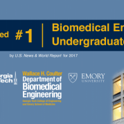 Biomedical Engineering Ranked No.1 in U.S. News Undergraduate Rankings