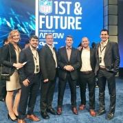 MBID Grads Compete in Super Bowl Event