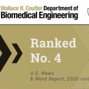 Biomedical Engineering Ranked No.4 in U.S. News Undergraduate Rankings