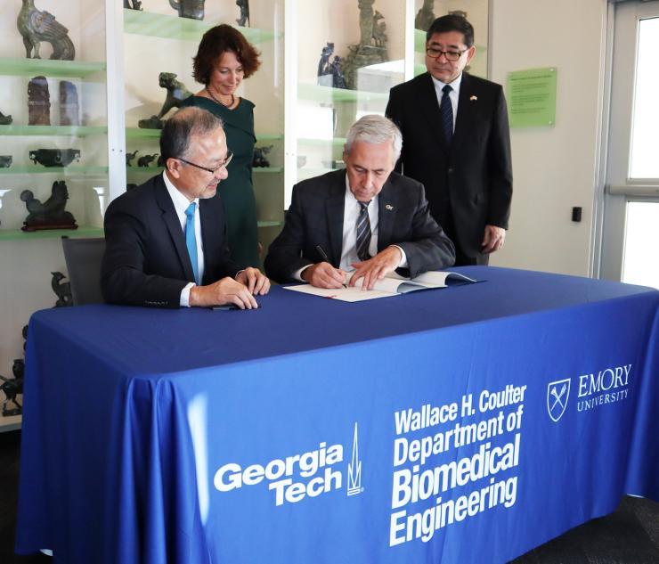 New Student Exchange Program Established Between Japan and Georgia Tech