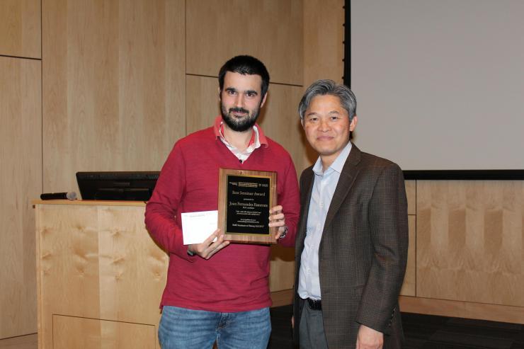 Best Seminar Award Winners