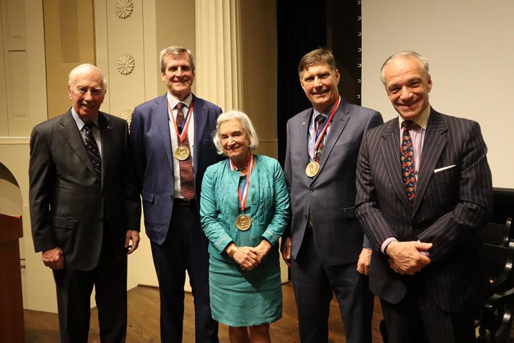 National Academy of Engineering Ceremony Honors Three Biomedical Engineering Faculty