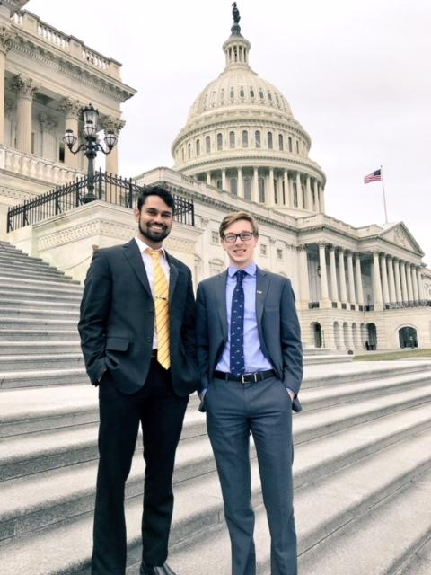 Students Travel to D.C. to Advocate for Grad Student Issues