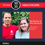 Two BME Alumni Named to Forbes 30 Under 30 Entrepreneur List
