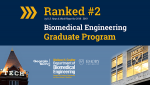 Biomedical Engineering Ranked #2 in U.S. News Graduate Rankings for 2019