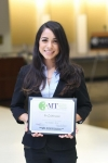 Nusaiba Baker wins Georgia Tech's Three Minute Thesis Competition